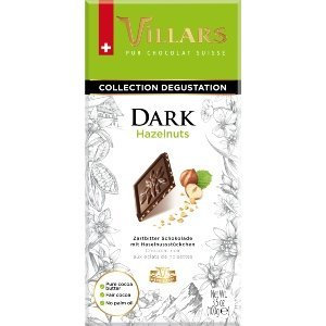Villars Dark Chocolate With Hazelnuts 100g 1