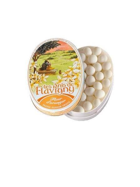 Anis De Flavigny Oval Tin Orange Blossom 50g P10hxtndjd8tivw7n6olyaicegvdj52gz3ssmleqr4
