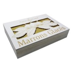 Azureenne Wooden Box Rodin 8 Marrons Glaces 160g P10i6c2ov9exl2du61auapv1aweb4y56k8lh4ezrs0