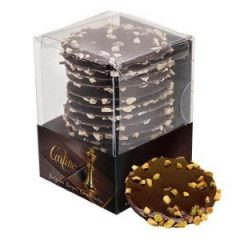 Carline Dark Chocolate And Pistachio Brittle Mendiants 125g P10i8i3amidqcp8iih0vjo6alvprvtqwiyqryds3fk
