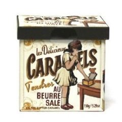 Salted Caramels Gift Tin 150g