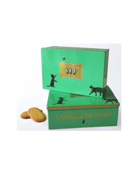 La Sablesienne Cat Tongue Tin Box Biscuits 160g P10i0m83un2i15u4bw5ov34nyp3ner5r0xlqz79m9c