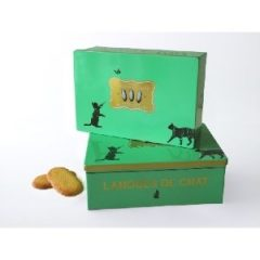 La Sablesienne Cat Tongue Tin Box Biscuits 160g P10i4mz6j13ameul2sw3ana2ourg8memnu6wxfid0g