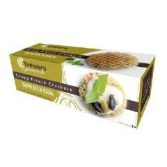 Tresors Crispy French Crackers Olive Oil Basil 95g P10i387w9z5t7gwbb6y8k036m1pmoyt4guyp0hlmcg
