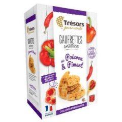 Tresors Gourmet Wafers Chilli Peppers 60g Box P10i1vcaelawfqvb8ltmycf7q0ejkpf2y51g23m3c0