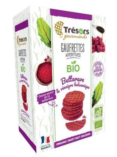 Tresors Organic Wafer CrackersSweet Beet Balsamic Vinegar 60g P10hykwp1ka4vksm80gsglmpmn50qd2oqupvjmabqo