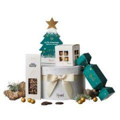 Christmas Green Hatbox
